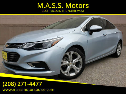 2017 Chevrolet Cruze for sale at M.A.S.S. Motors in Boise ID