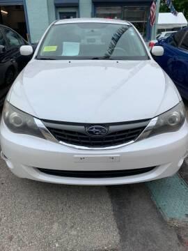 2008 Subaru Impreza for sale at Polonia Auto Sales and Service in Hyde Park MA