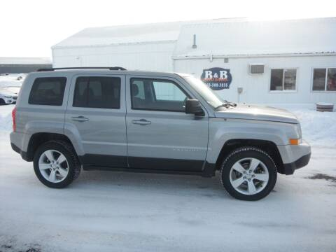 2015 Jeep Patriot for sale at B & B Sales 1 in Decorah IA