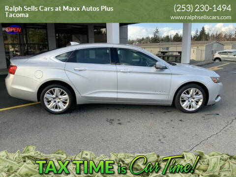 2016 Chevrolet Impala for sale at Ralph Sells Cars at Maxx Autos Plus Tacoma in Tacoma WA