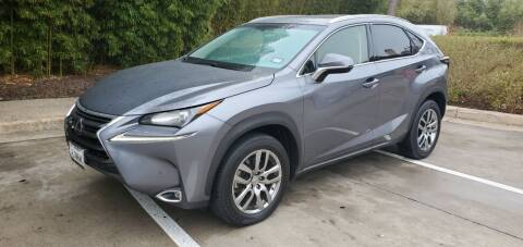 2016 Lexus NX 200t for sale at Motorcars Group Management - Bud Johnson Motor Co in San Antonio TX