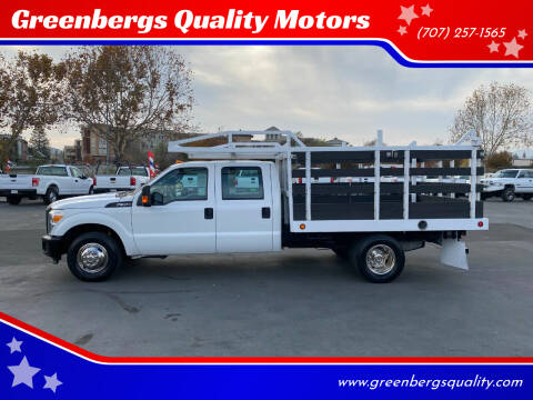 2015 Ford F-350 Super Duty for sale at Greenbergs Quality Motors in Napa CA
