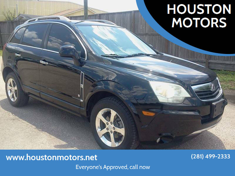 2009 Saturn Vue for sale at HOUSTON MOTORS in Stafford TX