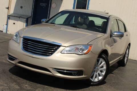 2014 Chrysler 200 for sale at Dynamics Auto Sale in Highland IN
