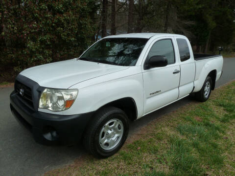 2008 Toyota Tacoma for sale at Templar Auto Group in Matthews NC