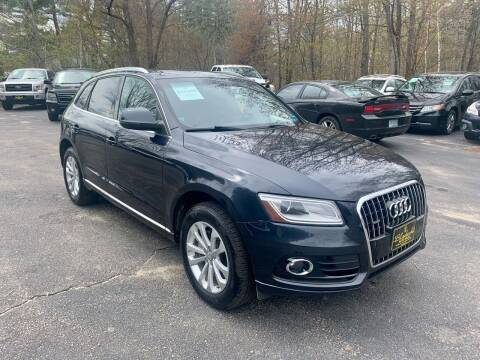 2013 Audi Q5 for sale at Bladecki Auto LLC in Belmont NH