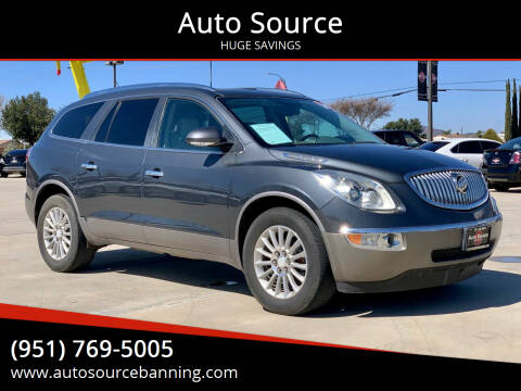 2011 Buick Enclave for sale at Auto Source in Banning CA