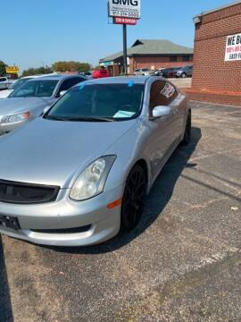2006 Infiniti G35 for sale at BMG AUTO GROUP in Arlington TX