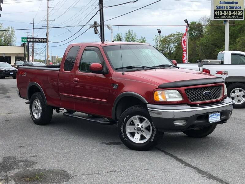 2002 Ford F-150 for sale at Jarboe Motors in Westminster MD