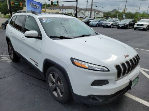 2016 Jeep Cherokee for sale at Shaddai Auto Sales in Whitehall OH