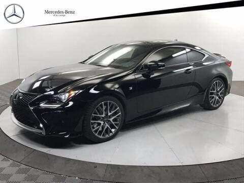 2016 Lexus RC 350 for sale at Stephen Wade Pre-Owned Supercenter in Saint George UT