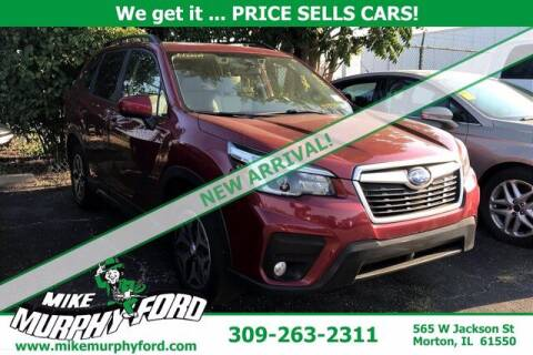 2021 Subaru Forester for sale at Mike Murphy Ford in Morton IL