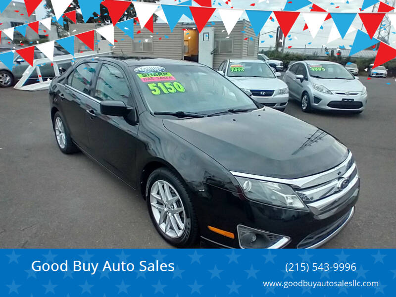 2011 Ford Fusion for sale at Good Buy Auto Sales in Philadelphia PA