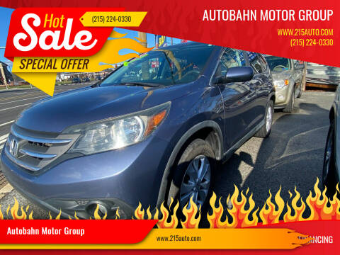 2013 Honda CR-V for sale at Autobahn Motor Group in Willow Grove PA