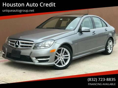2012 Mercedes-Benz C-Class for sale at Houston Auto Credit in Houston TX