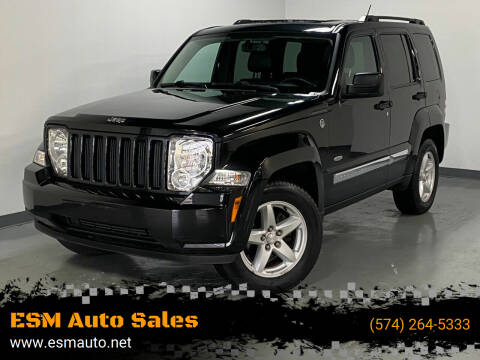 2012 Jeep Liberty for sale at ESM Auto Sales in Elkhart IN
