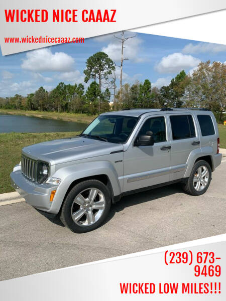 2012 Jeep Liberty for sale at WICKED NICE CAAAZ in Cape Coral FL