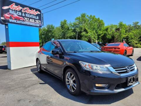 2013 Honda Accord for sale at Auto Outlet Sales and Rentals in Norfolk VA