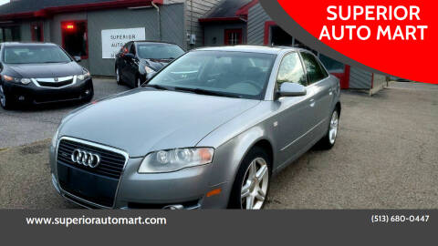 2007 Audi A4 for sale at SUPERIOR AUTO MART in Amelia OH
