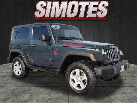2007 Jeep Wrangler for sale at SIMOTES MOTORS in Minooka IL