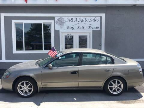 2005 Nissan Altima for sale at A&A Auto Sales in Orem UT