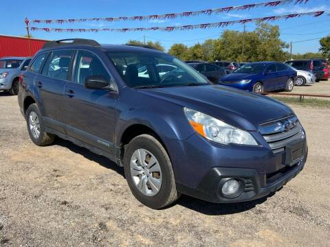 2013 Subaru Outback for sale at Collins Auto Sales in Waco TX