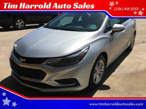 2017 Chevrolet Cruze for sale at Tim Harrold Auto Sales in Wilkesboro NC