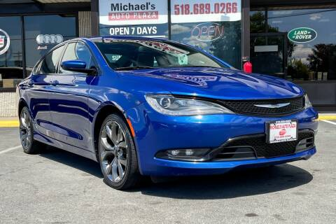 2015 Chrysler 200 for sale at Michaels Auto Plaza in East Greenbush NY