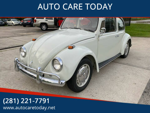 1967 Volksvagen Beetle for sale at AUTO CARE TODAY in Spring TX