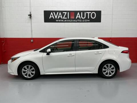 2020 Toyota Corolla for sale at AVAZI AUTO GROUP LLC in Gaithersburg MD