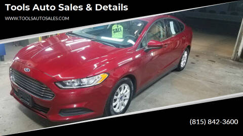 2015 Ford Fusion for sale at Tools Auto Sales & Details in Pontiac IL