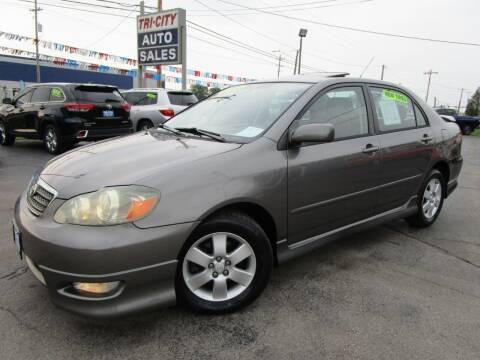 2006 Toyota Corolla for sale at TRI CITY AUTO SALES LLC in Menasha WI
