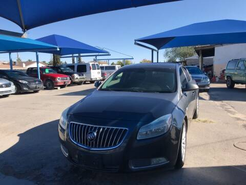 2011 Buick Regal for sale at Autos Montes in Socorro TX