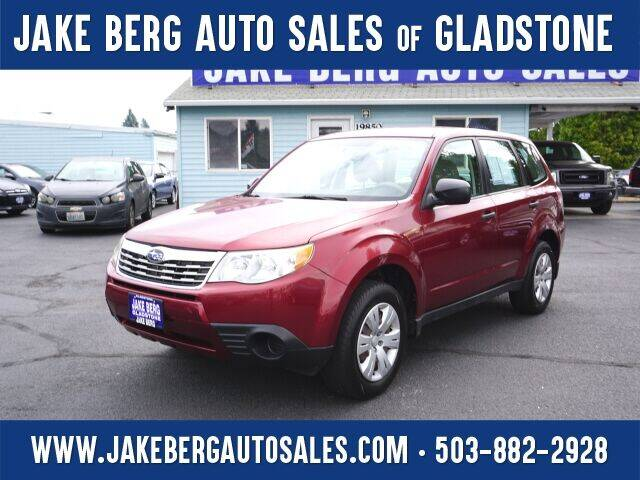 2010 Subaru Forester for sale at Jake Berg Auto Sales in Gladstone OR