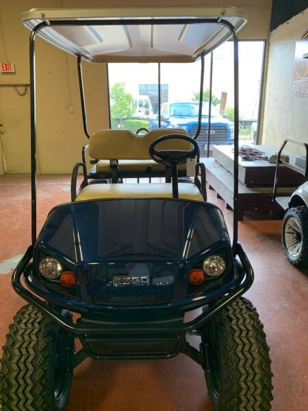 2016 E-Z-GO S4Express for sale at ADVENTURE GOLF CARS in Southlake TX