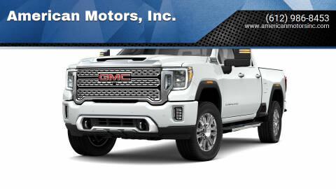2021 GMC Sierra 3500HD for sale at American Motors, Inc. in Farmington MN