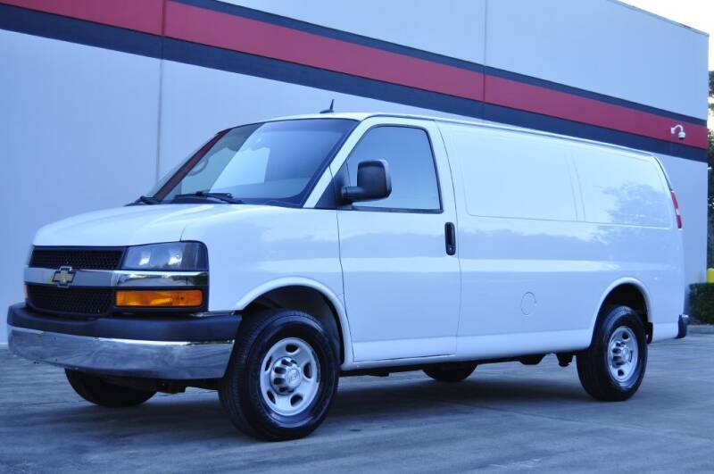 2015 Chevrolet Express Cargo for sale at Vision Motors, Inc. in Winter Garden FL