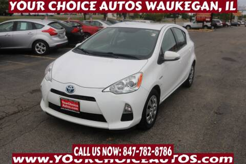 2014 Toyota Prius c for sale at Your Choice Autos - Waukegan in Waukegan IL