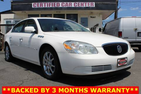 2006 Buick Lucerne for sale at CERTIFIED CAR CENTER in Fairfax VA