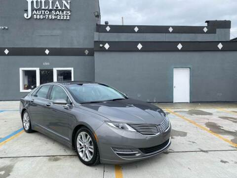 2014 Lincoln MKZ for sale at Julian Auto Sales, Inc. in Warren MI