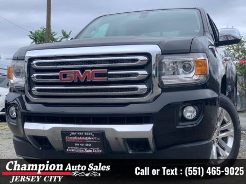 2015 GMC Canyon for sale at CHAMPION AUTO SALES OF JERSEY CITY in Jersey City NJ