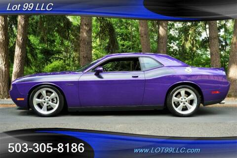 2010 Dodge Challenger for sale at LOT 99 LLC in Milwaukie OR