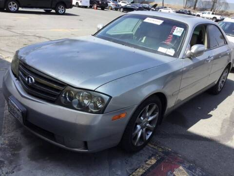 2004 Infiniti M45 for sale at SoCal Auto Auction in Ontario CA