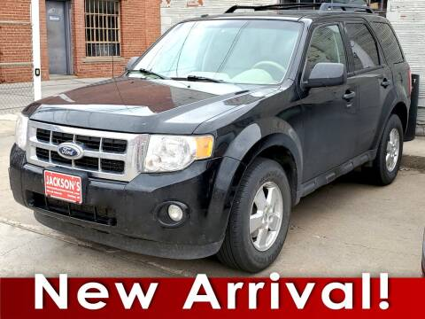 2012 Ford Escape for sale at Jacksons Car Corner Inc in Hastings NE