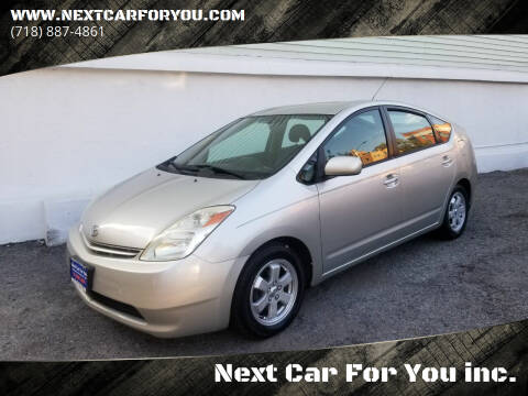 2005 Toyota Prius for sale at Next Car For You inc. in Brooklyn NY