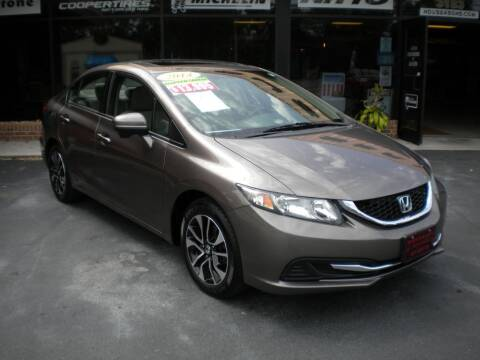 2014 Honda Civic for sale at Houser & Son Auto Sales in Blountville TN