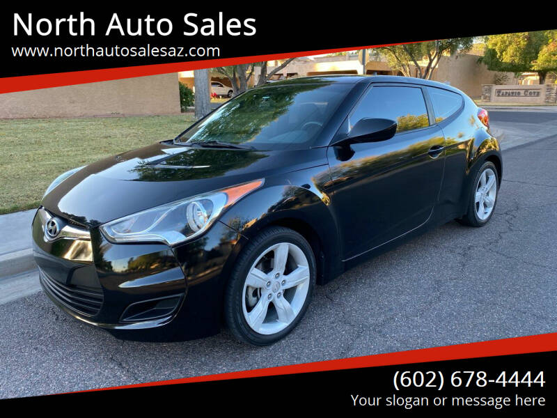 2013 Hyundai Veloster for sale at North Auto Sales in Phoenix AZ