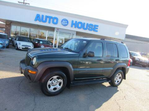 2002 Jeep Liberty for sale at Auto House Motors in Downers Grove IL