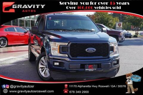 2018 Ford F-150 for sale at Gravity Autos Roswell in Roswell GA