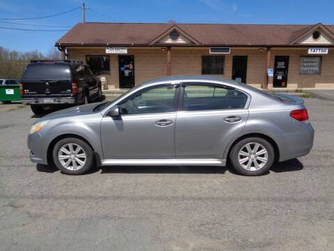 2010 Subaru Legacy for sale at On The Road Again Auto Sales in Lake Ariel PA